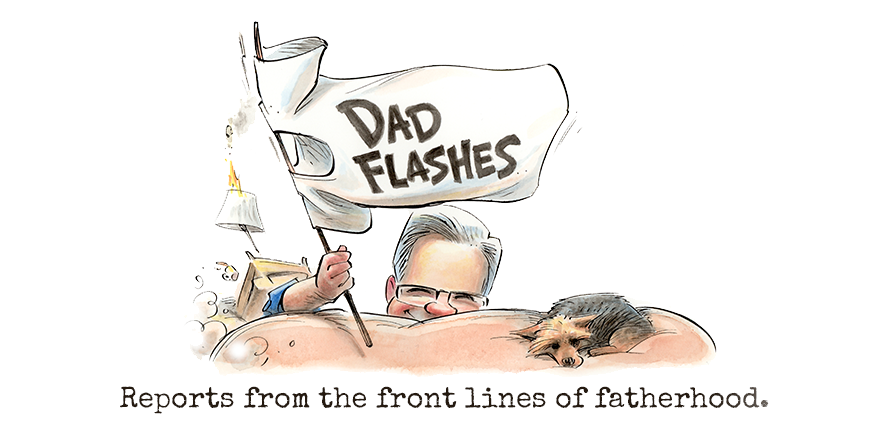 Dad Flashes