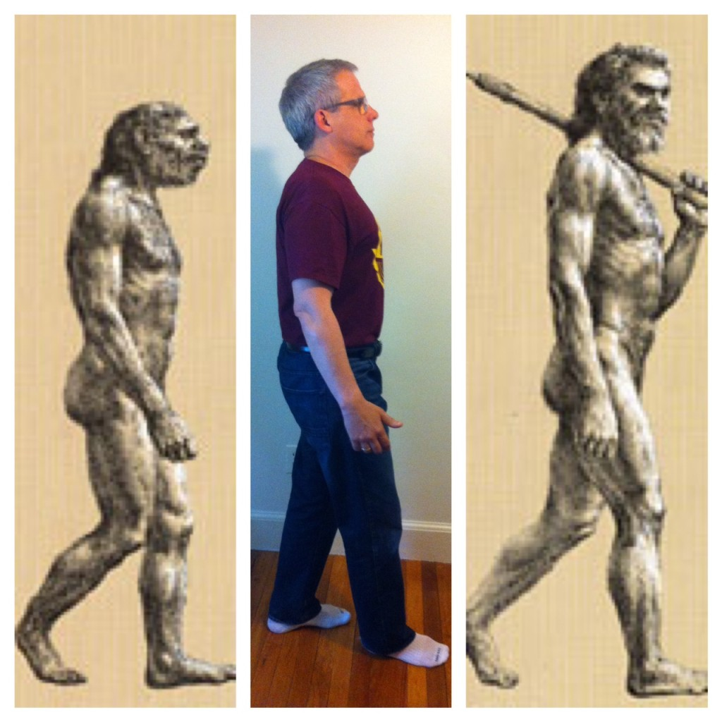 father in the scale of human evolution
