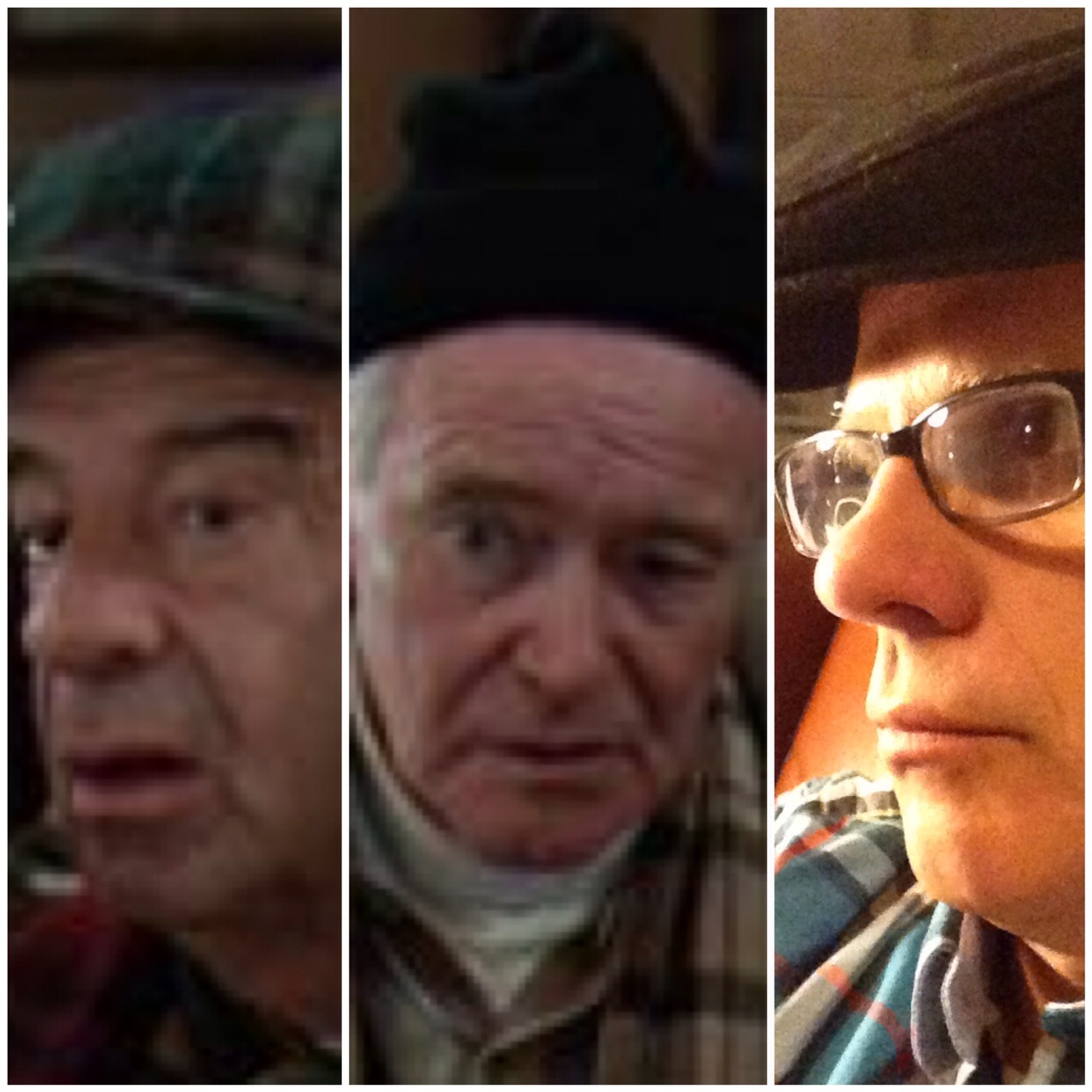 Blogger with actors from Grumpy Old Men